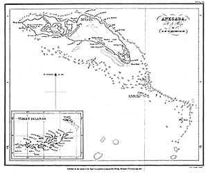 Schomburgk 1831 Chart of Anegada