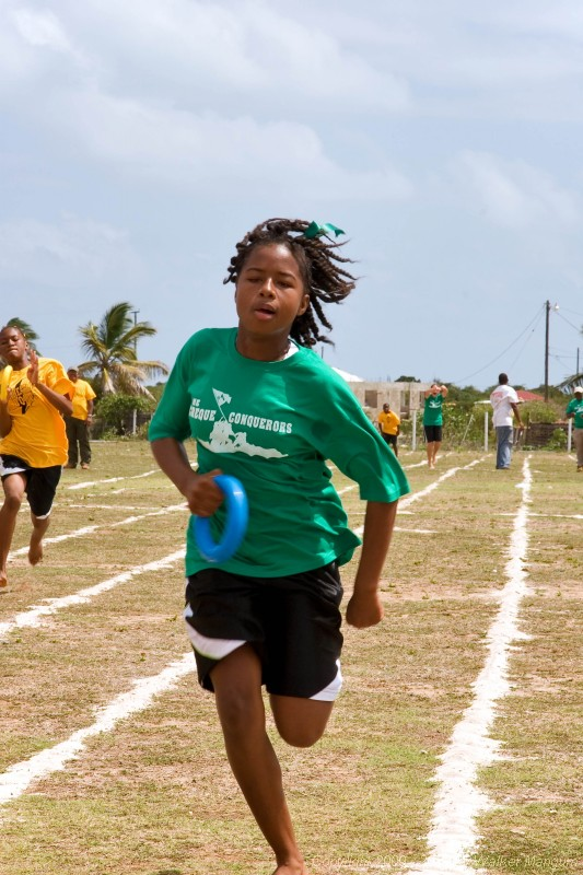 Spring Sports Day at Anegada's Claudia Creque Education Center.