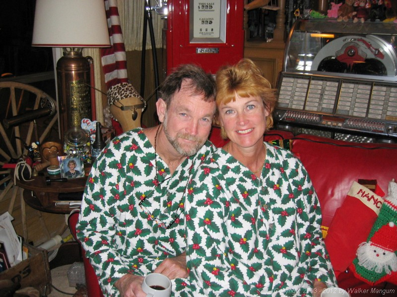 Merry Christmas from Walker and Nancy!