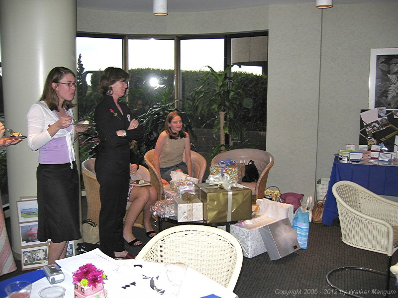 Joanna's bridal shower - March 19