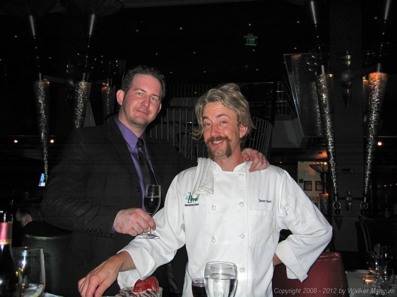 Zula manager Todd Summerlin and executive chef Jason Kerr.